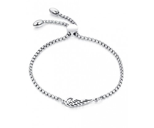 GIOELLE Trendy Bracelet, Stainless Steel, Silver-tone plated