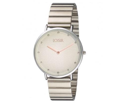 LOISIR Idole silver Stainless Steel Bracelet