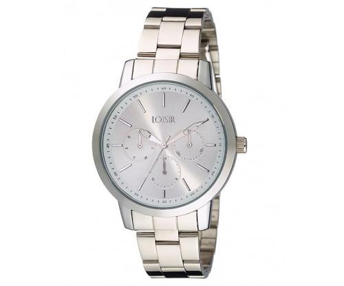 LOISIR Unisex silver Stainless Steel Bracelet