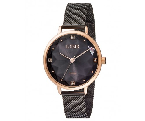 LOISIR Chicago black Stainless Steel Bracelet