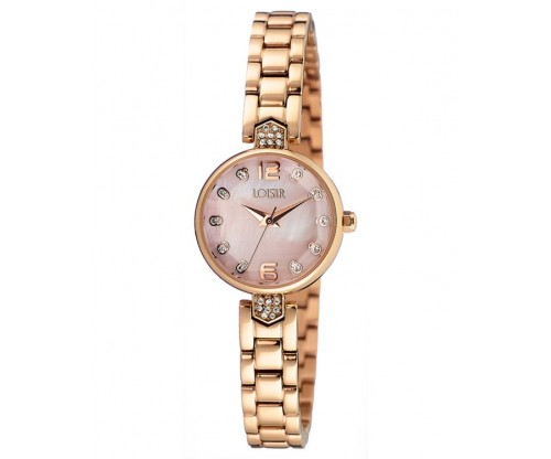 LOISIR Mirror rose gold Stainless Steel Bracelet