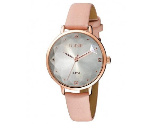 LOISIR Chicago with beige leather strap