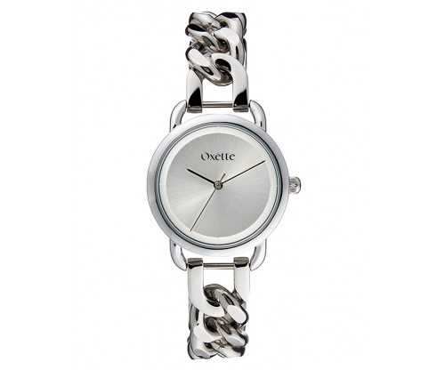 OXETTE Link silver Stainless Steel Bracelet