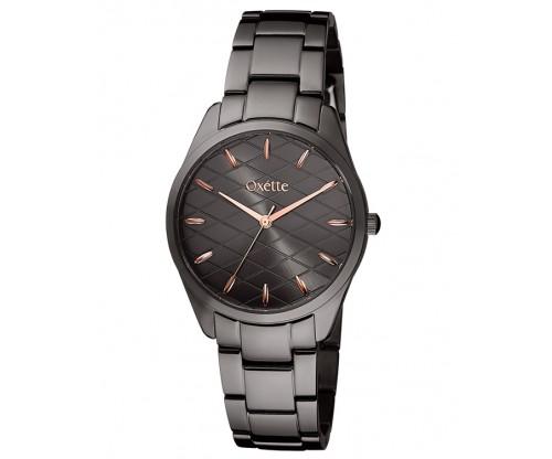 OXETTE Divina black Stainless Steel Bracelet