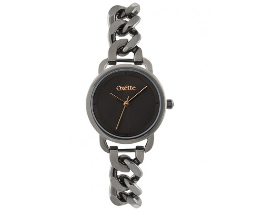 OXETTE Link black Stainless Steel Bracelet