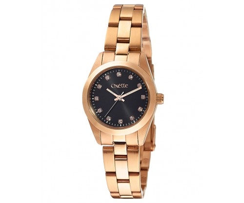 OXETTE Bradshaw Rose Gold Stainless Steel Bracelet