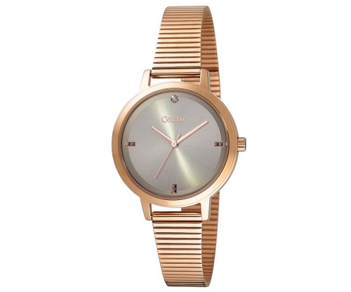 OXETTE Madison Rose Gold Stainless Steel Bracelet