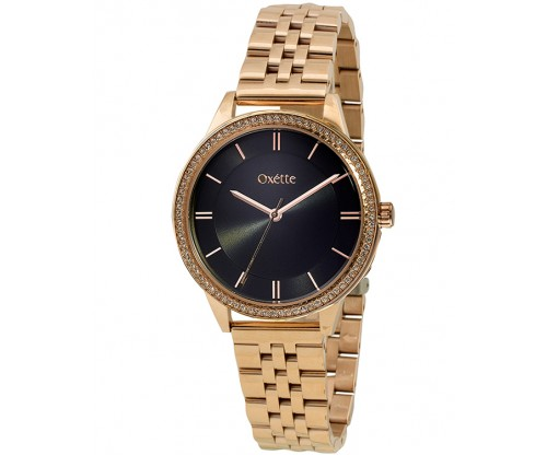 OXETTE Sparks Rose Gold Stainless Steel Bracelet