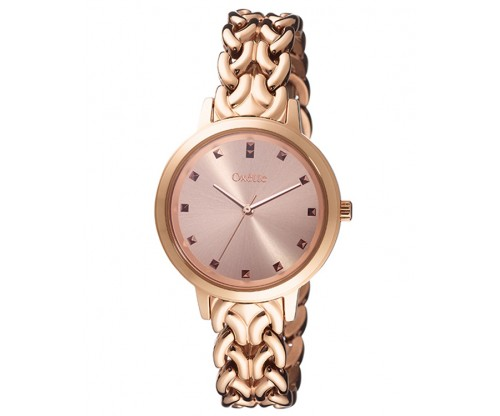OXETTE Elite Rose Gold Stainless Steel Bracelet