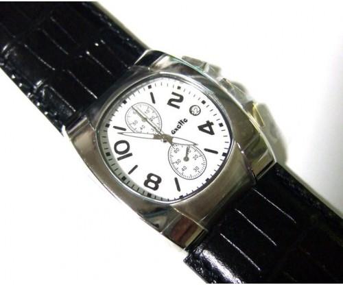 Ρολόι χρονογράφος Δερμάτινο λουράκι Oxette
