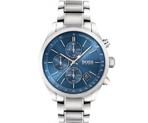 HUGO BOSS Grand Prix Chronograph Stainless Steel Bracelet