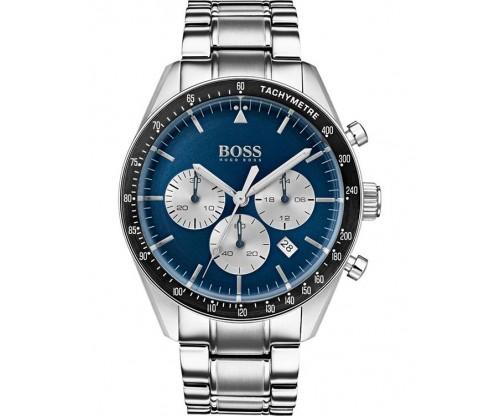HUGO BOSS Trophy Chronograph Stainless Steel Bracelet