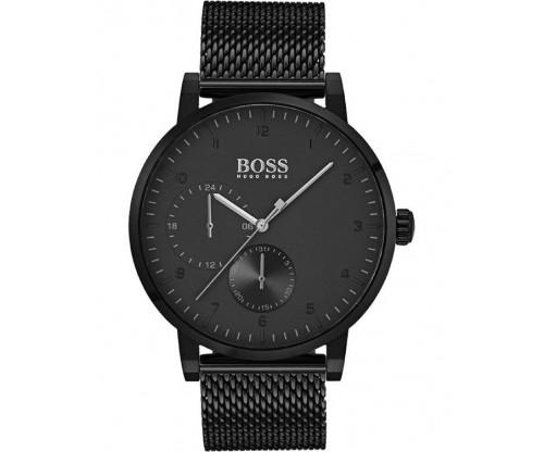 HUGO BOSS Oxygen Black Stainless Steel Bracelet