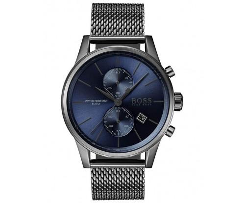 HUGO BOSS Navigator Chronograph Grey Stainless Steel Bracelet