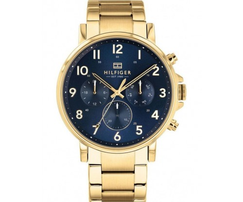 Tommy HILFIGER Daniel Multifunction Gold Stainless Steel Bracelet