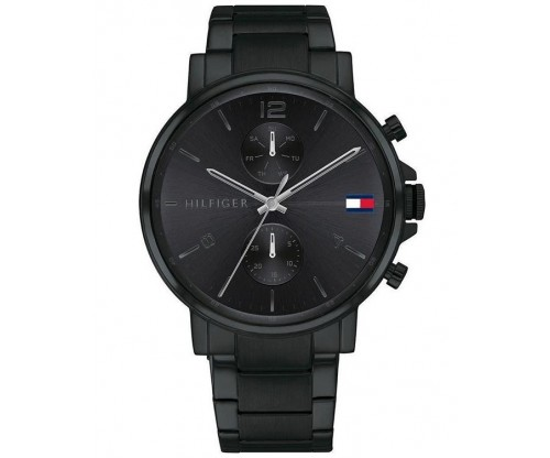 Tommy HILFIGER Daniel Multifunction Black Stainless Steel Bracelet