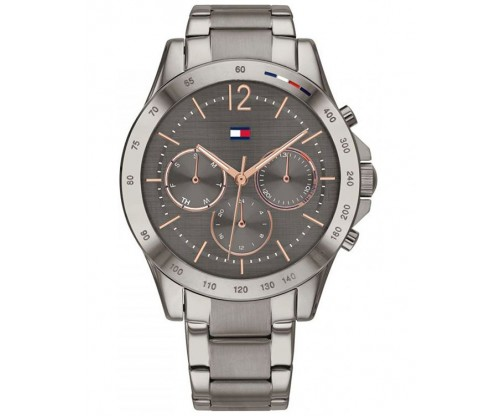 Tommy HILFIGER Haven Multifunction Gray Stainless Steel Bracelet