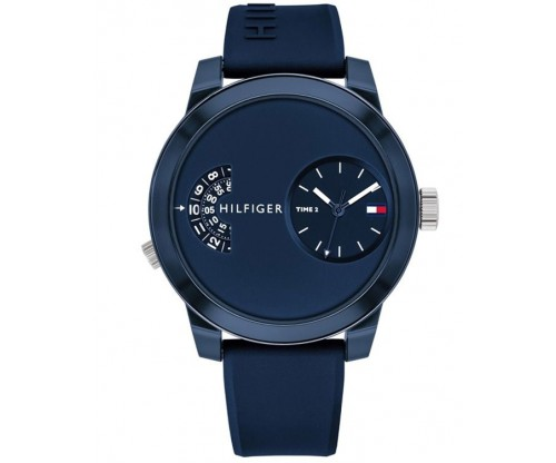 Tommy HILFIGER Denim Blue Rubber Strap