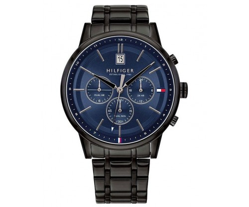 Tommy HILFIGER Kyle Multifunction Black Stainless Steel Bracelet