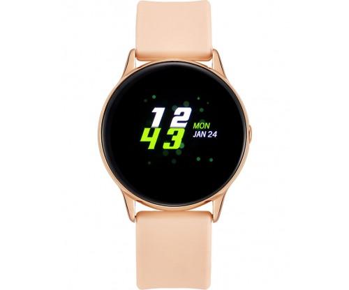 VOGUE Cosmic Smartwatch Pink Silicone Strap