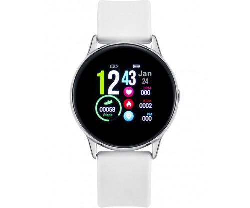 VOGUE Cosmic Smartwatch White Silicone Strap