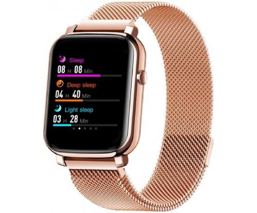 VOGUE Hera Smartwatch Gold Stainless Steel Bracelet