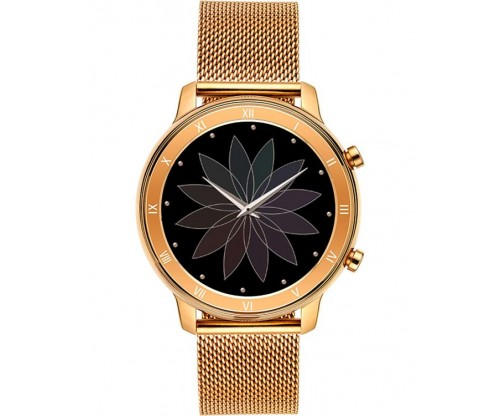 VOGUE Astrid Smartwatch Rose Gold Stainless Steel Bracelet