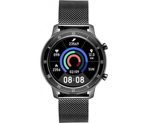 VOGUE Astrid Smartwatch Black Stainless Steel Bracelet