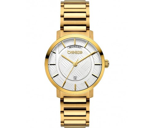BREEZE Superfect Gold Stainless Steel Bracelet