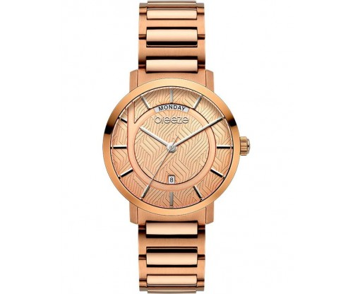BREEZE Superfect Rose Gold Stainless Steel Bracelet