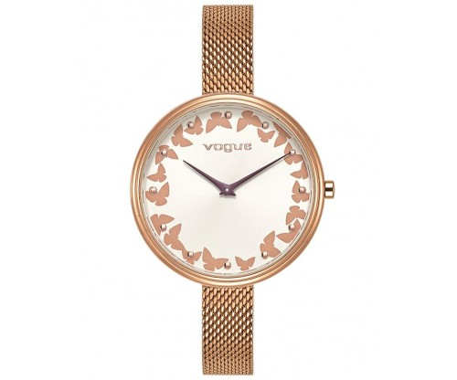 VOGUE Pappillon 2 Rose Gold Stainless Steel Bracelet
