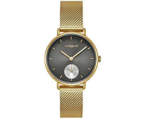 VOGUE New York Gold Stainless Steel Bracelet