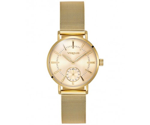 VOGUE Roma Gold Stainless Steel Bracelet