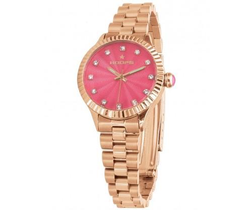 HOOPS Luxury Diamonds Gold Rose Gold Metallic Bracelet