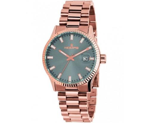 HOOPS Luxury L Gold Rose Gold Metallic Bracelet