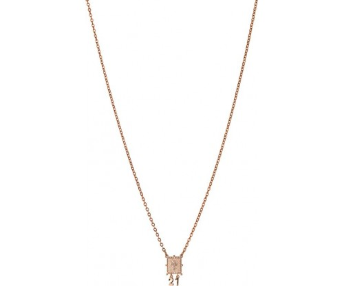 BREEZE Necklace, Stainless steel, Rose Gold-tone plated