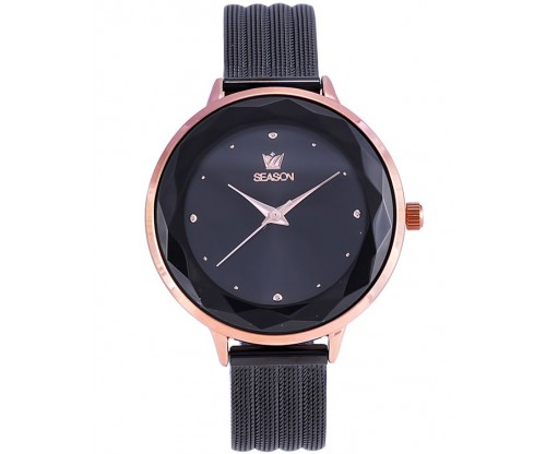 SEASON Joy Black Stainless Steel Bracelet