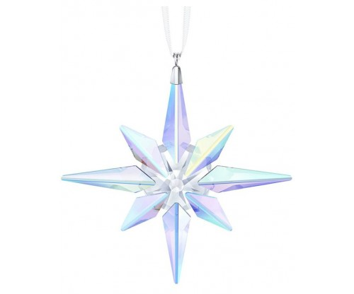 SWAROVSKI Star Ornament, Crystal AB