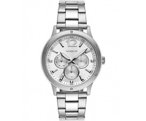VOGUE Mastery Silver Stainless Steel Bracelet