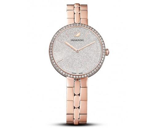 SWAROVSKI Cosmopolitan Watch, Metal bracelet, Rose gold tone, Rose-gold tone PVD