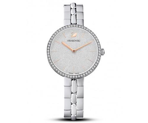 SWAROVSKI Cosmopolitan Watch, Metal bracelet, Silver tone, Stainless steel