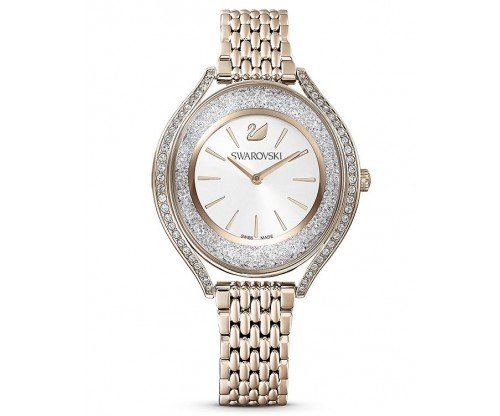 SWAROVSKI Crystalline Aura Watch, Metal Bracelet, Gold tone, Champagne-gold tone PVD