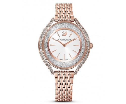 SWAROVSKI Crystalline Aura Watch, Metal Bracelet, Rose gold tone, Rose-gold tone PVD