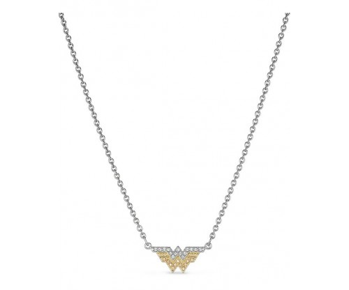 SWAROVSKI Fit Wonder Woman Necklace, Gold tone, Mixed metal finish