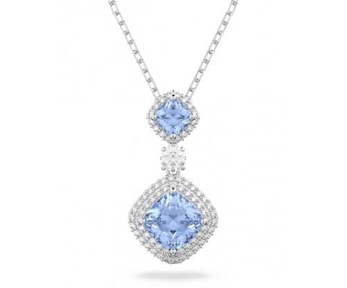 SWAROVSKI Angelic Necklace Blue Rhodium plated