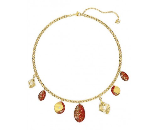 SWAROVSKI The Elements Necklace, Red, Mixed metal finish
