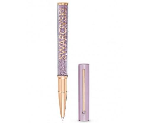 SWAROVSKI Crystalline Gloss Ballpoint Pen, Purple, Rose-gold tone plated