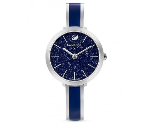 SWAROVSKI Crystalline Delight Watch, Metal Bracelet, Blue, Stainless Steel