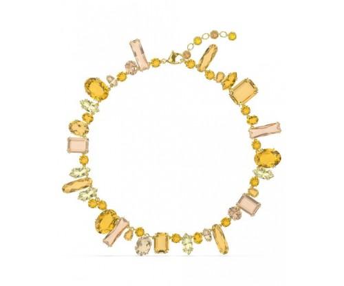 SWAROVSKI Gema necklace Multicolored, Gold-tone plated
