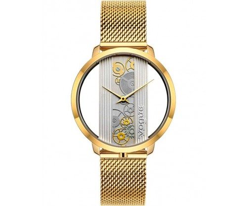 VOGUE Telescopic Gold Stainless Steel Bracelet